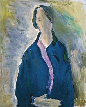 Ольга. Портрет жены художника