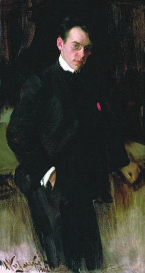 Рис. 2. Щуко в 1902 году. Художник Иван Куликов