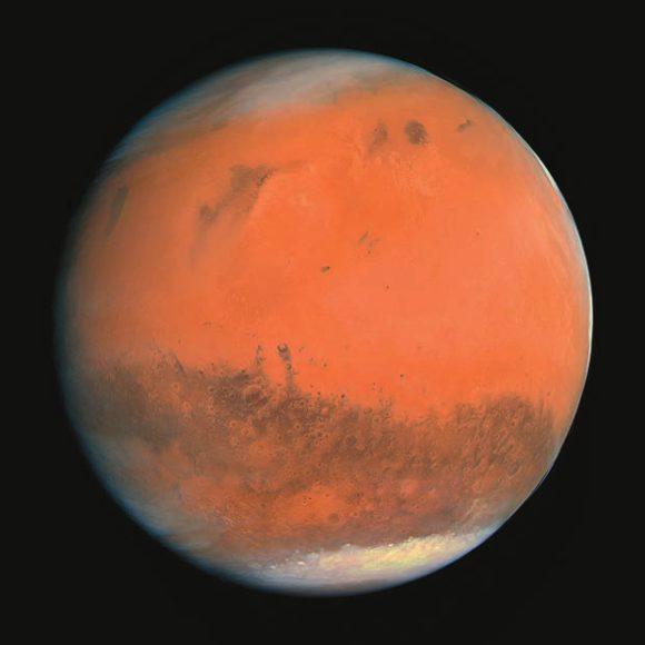 Марс. Фото Rosetta. Фото ESA
