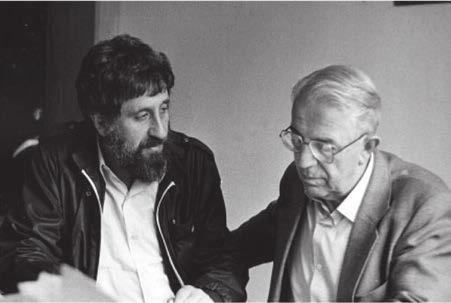 Ю. С. и автор (около 1980 года)
