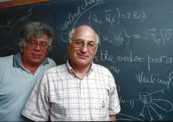 А. Вайнштейн и М. Шифман. Фото из «Фейсбука»