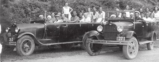 Северо-Кавказское отделение общества Автодор. 1931 год. Фото с сайта http://avto-nomer.ru