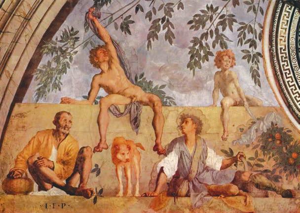Вертумн и Помона (сюжет о любви юного бога и прекрасной нимфы)