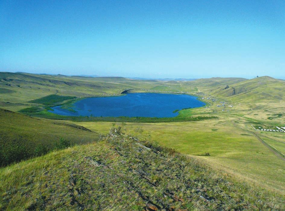 Озеро Шунет. Фото Ф. Берёзова