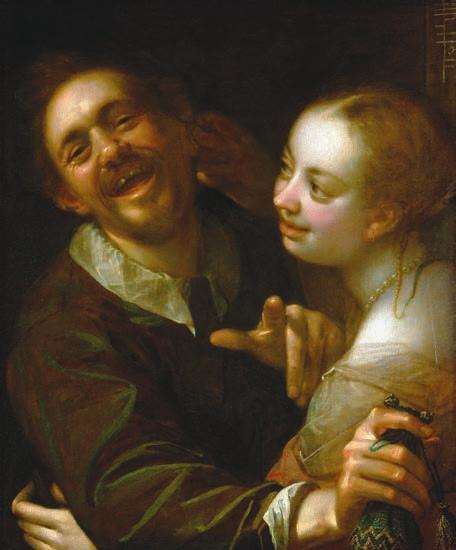 Смеющаяся пара
