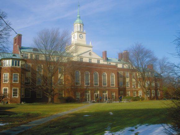 Фалд-Холл. Институт перспективных исследований в Принстоне, штат Нью-Джерси (США). Фото Wikimedia Commons