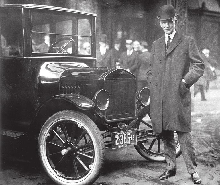 Генри Форд и «Жестяная Лиззи». 1921 год