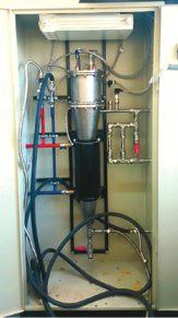 Опытно-промышленная установка для получения суспензии графеновых частиц