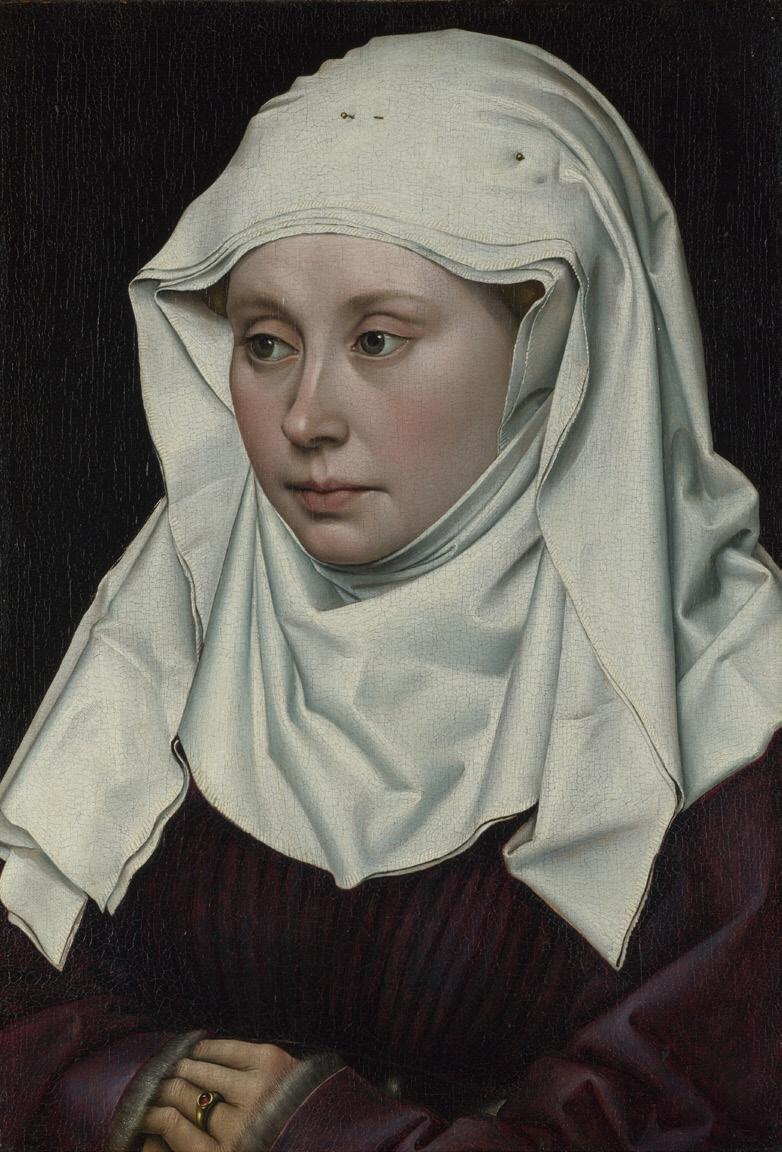 Рис. 2. Женский портрет (1430)