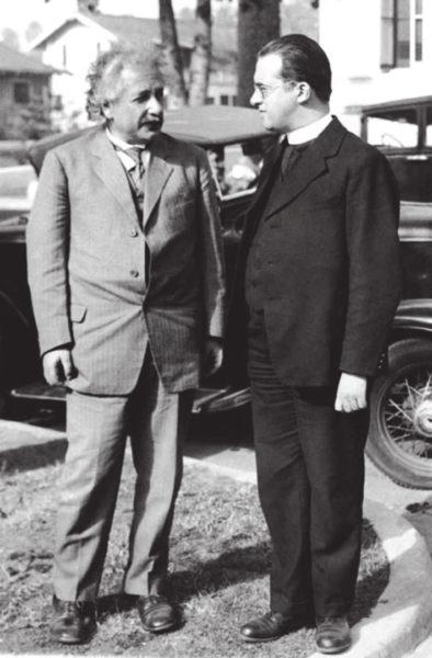 Леметр и Эйнштейн (kuleuven.be)