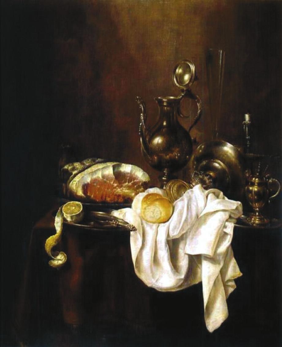 Виллем Клас Геда. «Завтрак»