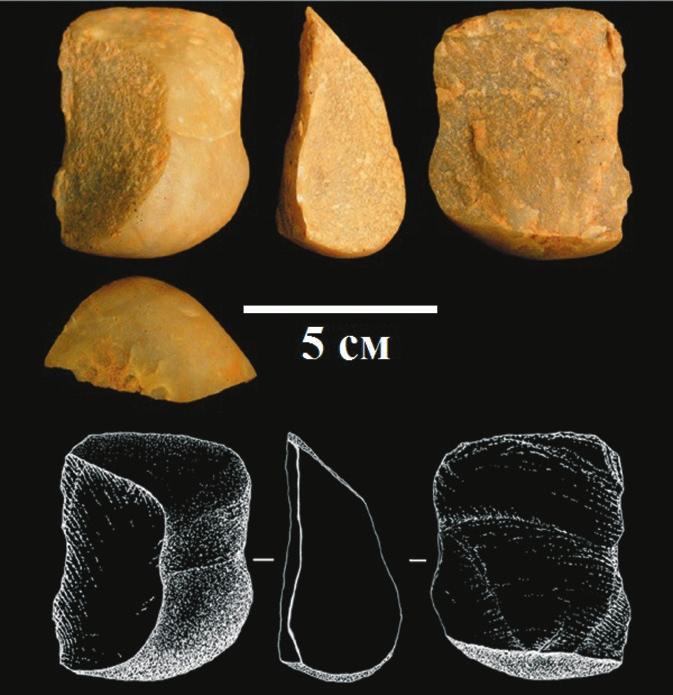 Рис. 2. Камни, обработанные капуцинами (Proffitt et al., 2016)