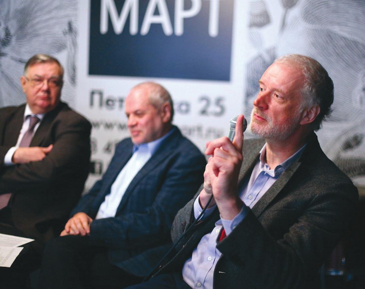 Омбудсмен Евгений Бунимович, физик Алексей Семихатов