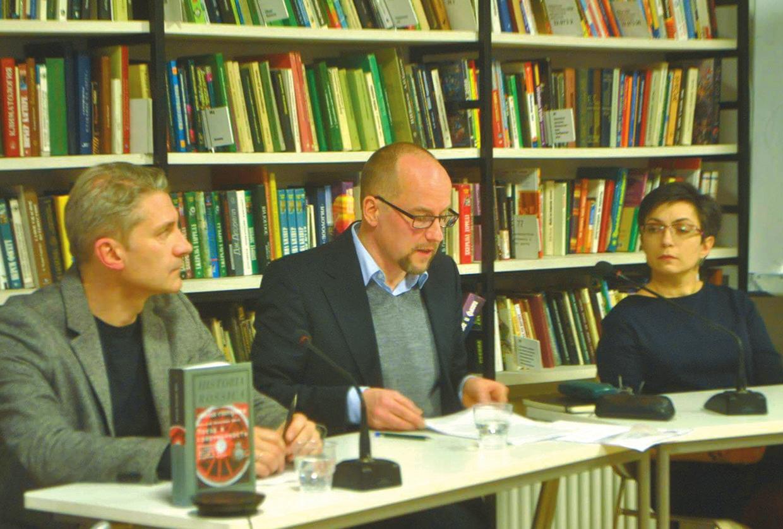 Фритьоф Беньямин Шенк (в центре). Фото М. Поповой