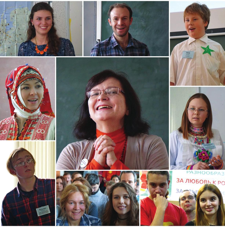 Московский фестиваль языков. Рабочие моменты. Фото из личного архива Ирины Гончаровой