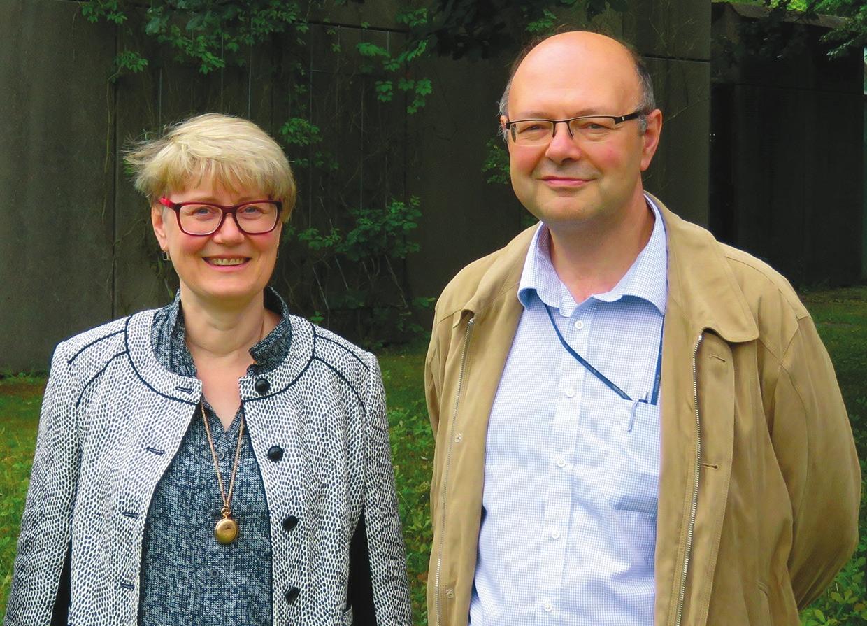 Наталья и Леонид Дубровинские (www.uni-bayreuth.de)