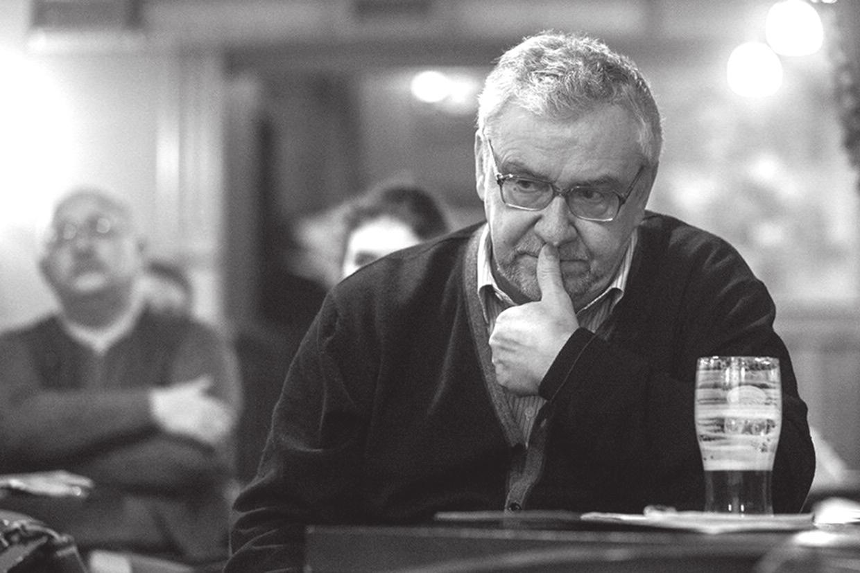 Борис Дубин («Виндзор паб», 6 ноября 2013 года). Фото А. Степаненко