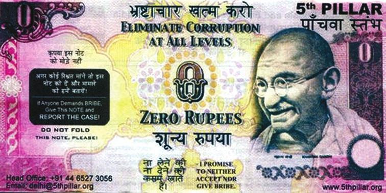3. Антикоррупционная бона. Индия [coinbooks.org].