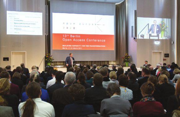 На XIII Берлинской конференции открытого доступа. Фото с сайта www.bsu.edu.ru