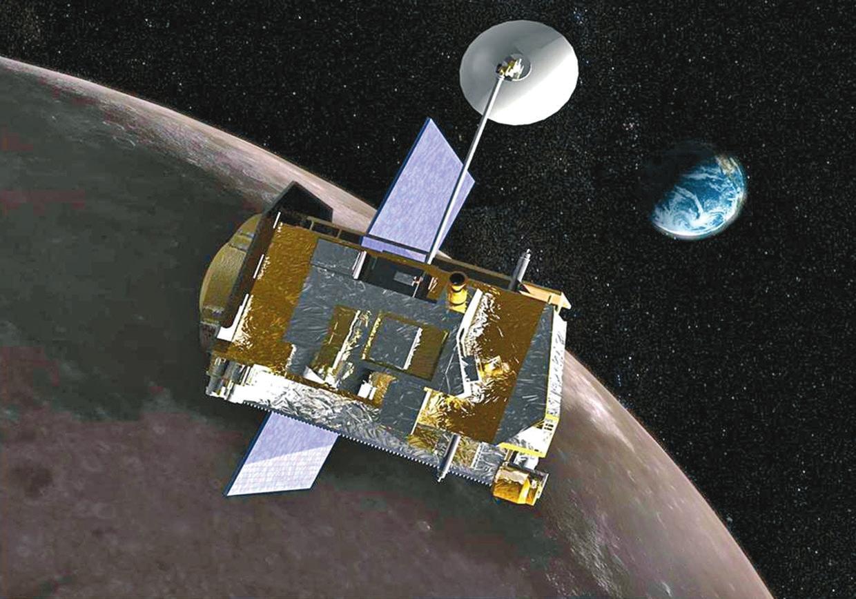 LRO (Lunar Reconnaissance Orbiter). Изображение из «Википедии»