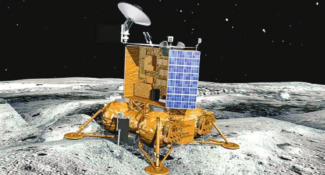 «Луна-25». Изображение с сайта sputniknews.com