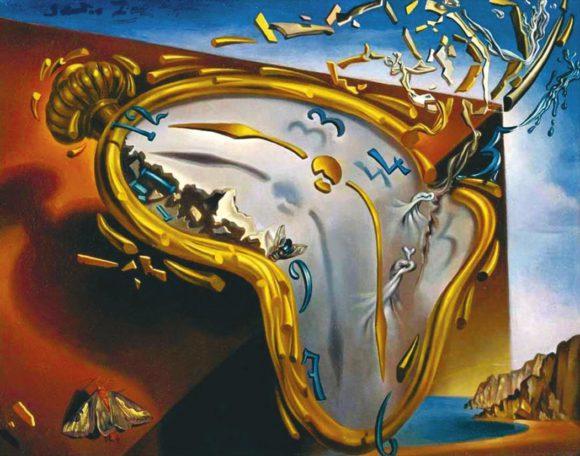 Сальвадор Дали. Тающие часы (1954)