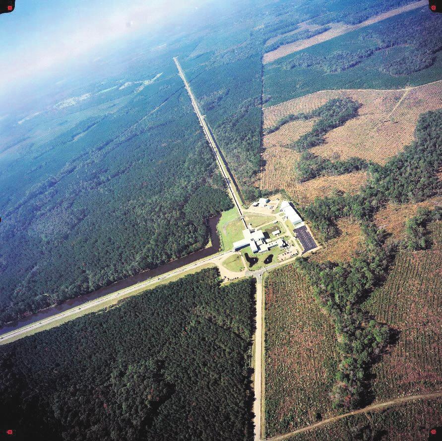 Обсерватория LIGO в Ливингстоне (штат Луизиана). LIGO/Aurore Simonnet/Sonoma State University