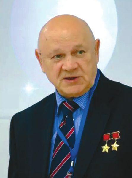 Владимир Джанибеков на показе фильма «Салют-7» в Кремле. Фото Д. Пайсона