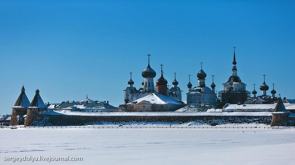 6. Соловецкий монастырь в 2011 году [4]
