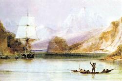 Кругосветное плавание Дарвина на «Бигле» (1831-1836). С сайта Wikipedia