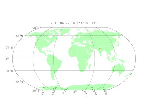 Рис. 3.2. Географическое положение УФ-вспышек в атмосфере Земли со сложной пространственно-временной структурой