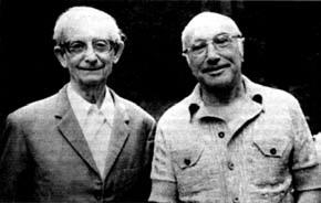 Ю.Б. Харитон и Я.Б. Зельдович