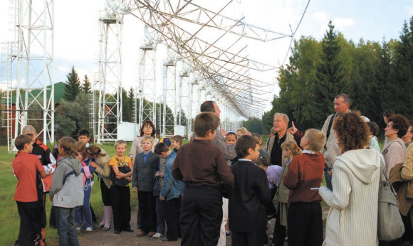 Экскурсия в Пущинской радиоастрономической обсерватории
