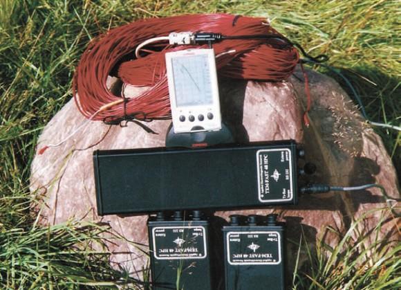 TEM-FAST со свернутой антенной (красный провод)