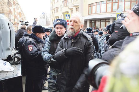 Задержание В.Васильева. Фото Е. Михеевой («Грани.ру»)