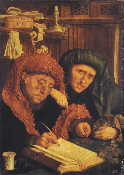 Менялы. Маринус Ван Реймерсвале. Перая половина XVI Века