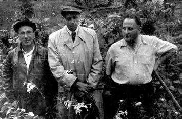 Я.Б. Зельдович с А.Д. Сахаровым и Д.А. Франк-Каменецким