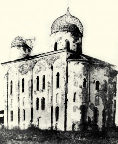 Разрушенный монастырь после Великой Отечественной Войны фото 1948 года