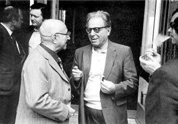 Я.Б. Зельдович и И.С. Шкловский