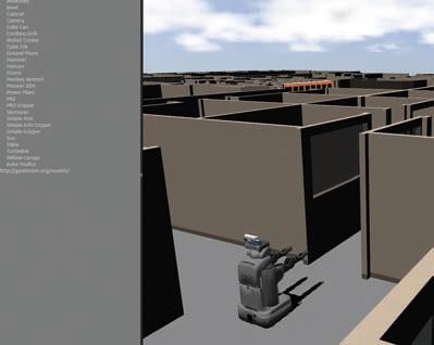 Симулятор роботов Gazebo.