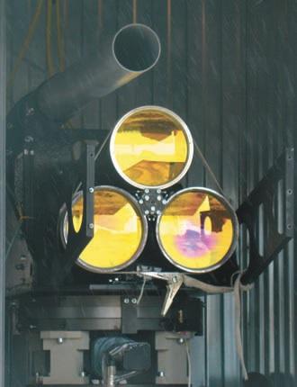 Трехканальный телескоп лазерного технологического комплекса МЛТК-20