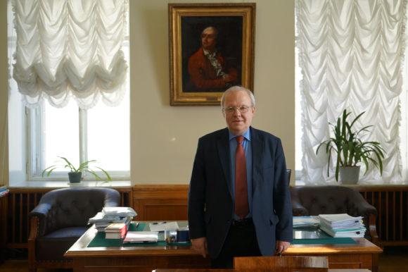 Академик РАН Алексей Хохлов