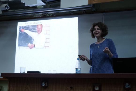 Ирина Делюсина на лекции вспомнила о своих дискуссиях с Дмитрием Дьяконовым