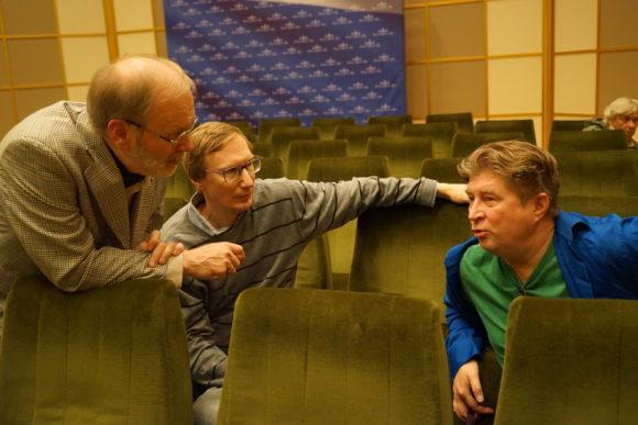 Математики на встрече с А.М. Сергеевым и Р.И. Нигматулиным