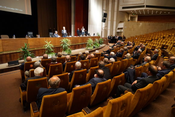 Первое заседание нового Президиума РАН