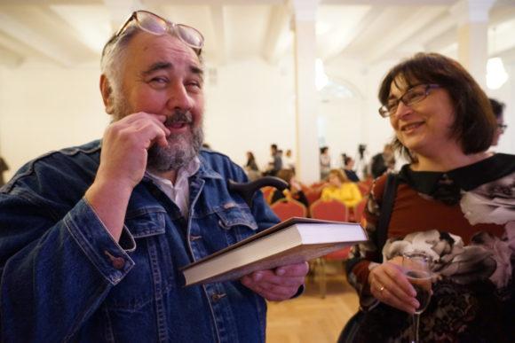 Борис Жуков и Елена Наймарк
