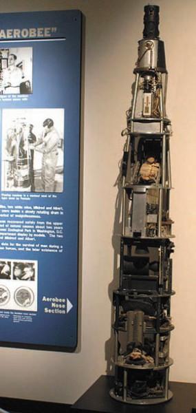 Рис.1. Головная часть ракеты Aerobee-150 (http://ru.wikipedia.org/wiki/Aerobee)