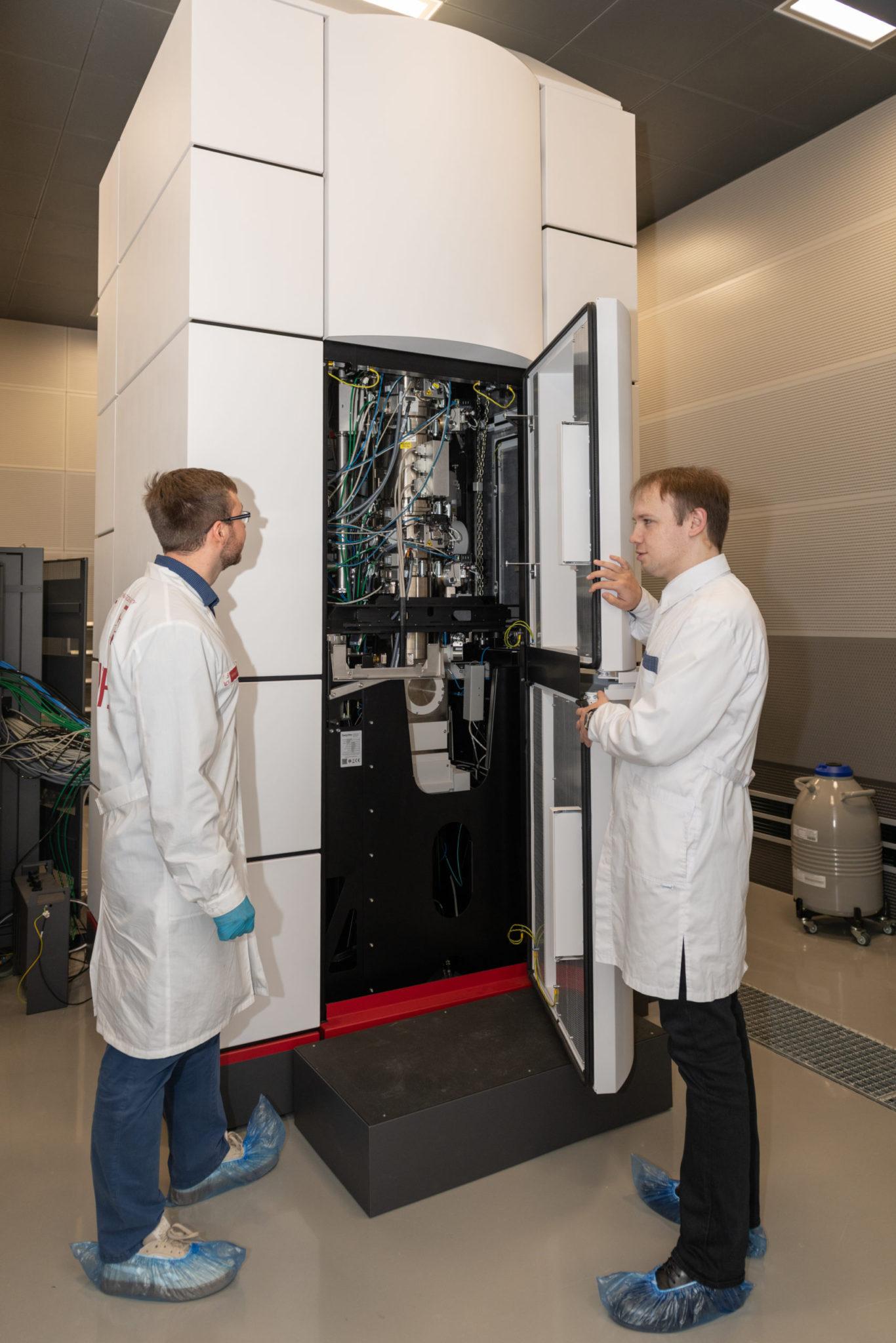 Микроскоп Titan Themis Z, ЦКП «Визуализация высокого разрешения»