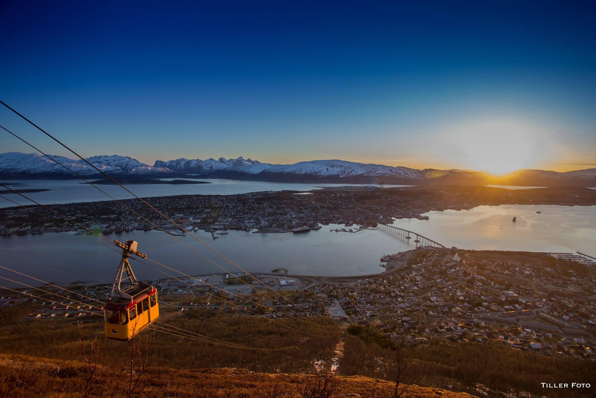 Панорама Тромсё. Фото Truls Tiller