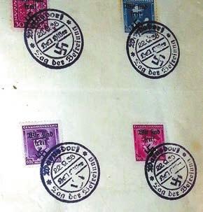 Еврейские марки времен Третьего рейха (!)